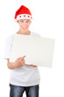 Teenager with White Board