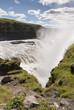 cascata di gullfoss in Islanda