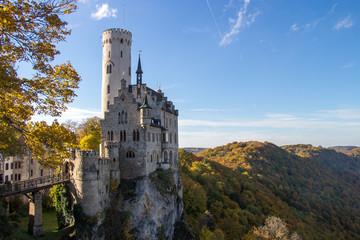 Schloss Lichtenstein Herbst