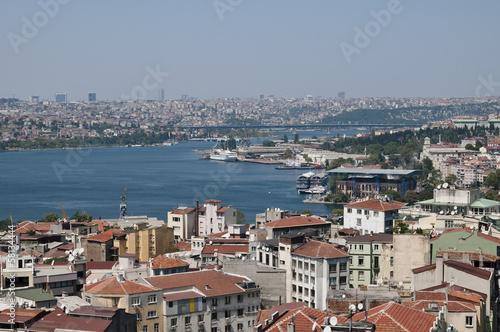Istanbul von oben, Luftaufnahme, Istanbul, Türkei