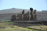 Line of statues, Easter Island