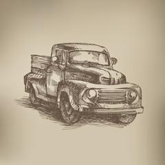 Vintage. Truck