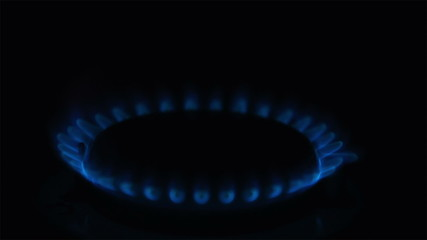 Igniting the gas stove with piezo