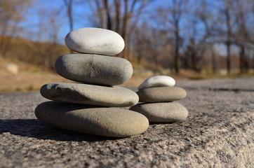 pebble, stone