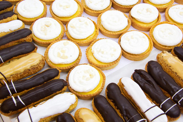 Choux pastry.