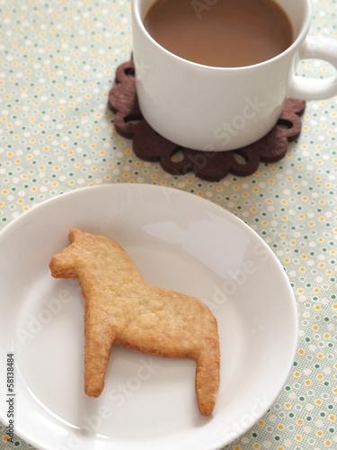 馬の形のクッキー