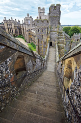 English medieval castle of Arundel