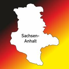 Bundesland ~ Deutschland ~ Karte ~ Landesfarben