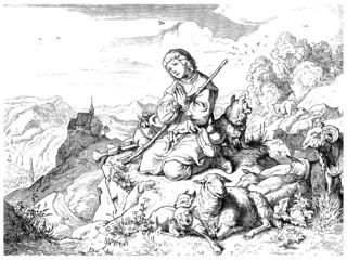 Trad. Sheperd - Berger - Schäfer_1879