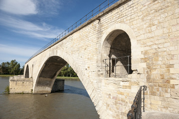 Bridge Saint-Benezet, Avignon, France