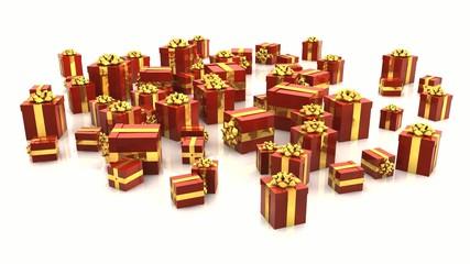 VID - 3D - Christmas Gift Boxes (I)