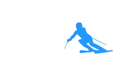 Skiing Animation