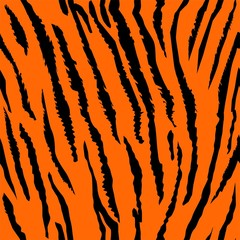 Seamless tiger fur pattern