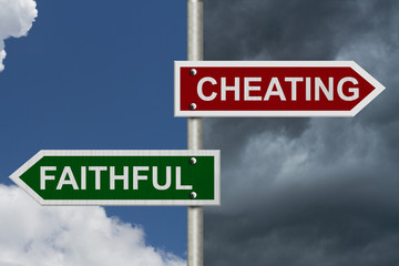 Cheating versus Faithful