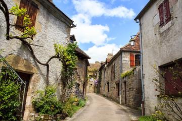 Loubressac village, France
