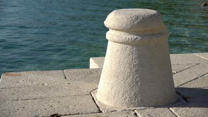 Stone bollard