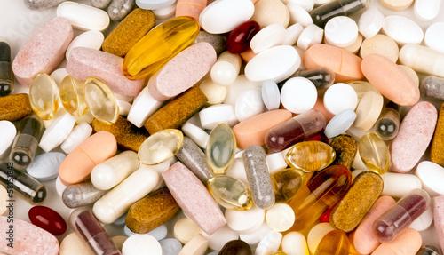 Vitamin Supplement Pills Capsules Pile Group Treatment Medicine - 58151843