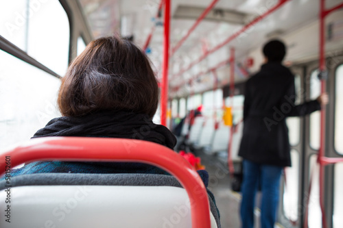 Public transport series - taking a tram commute to work/school