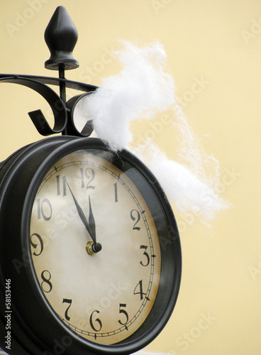New Year Eve clock