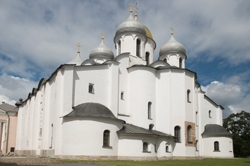 Sant Sophia Cathedral in Novgorod, Russia