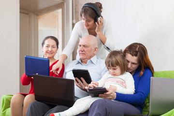 people  uses few various  computers
