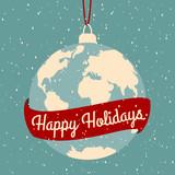 Fototapety Christmas Greeting Card