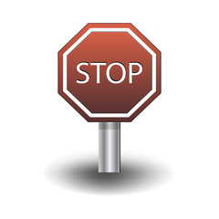 Stop red