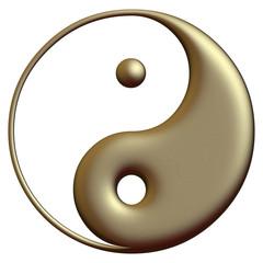 Yin Yang bronze
