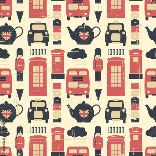 Seamless London Background - 58160840
