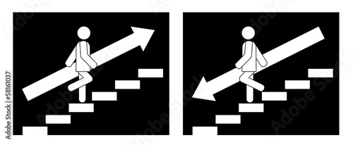 stairs pictogram