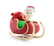 baby santa hat santa sleigh and Santa's Sack with Gifts