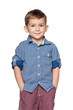 Cute fashion small boy