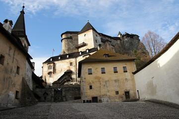 Quadrangle of Orava castle, Slovakia