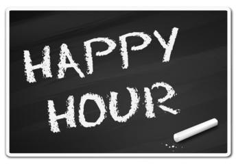 Tafel Kreide - happy hour