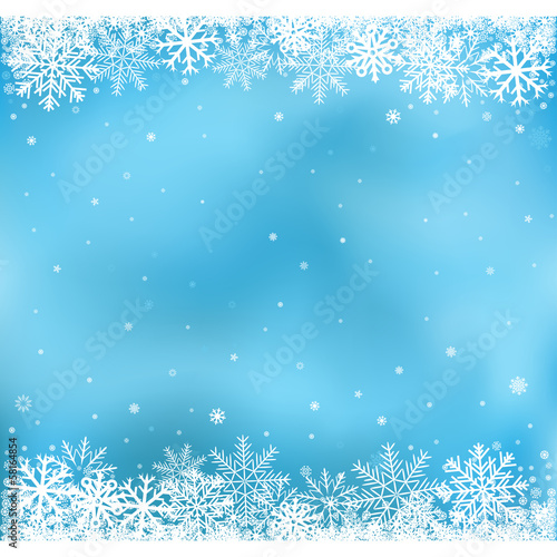 blue snow mesh background
