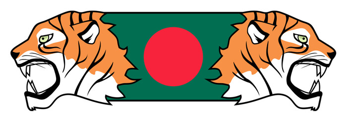 Bangladesh tiger flag