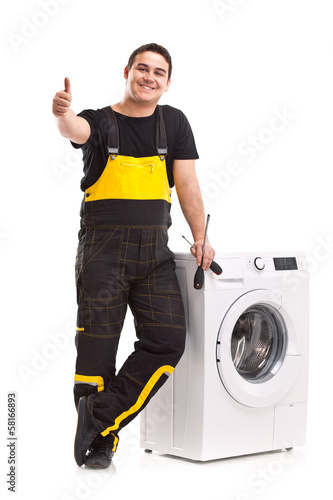 washing machine repairman