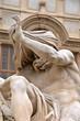 Постер, плакат: Nile statue Fontana dei Quattro Fiumi in Piazza Navona Rome