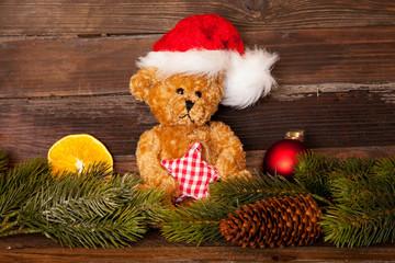 Weihnachtlicher Teddybär