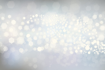 Vector glitter silver background.