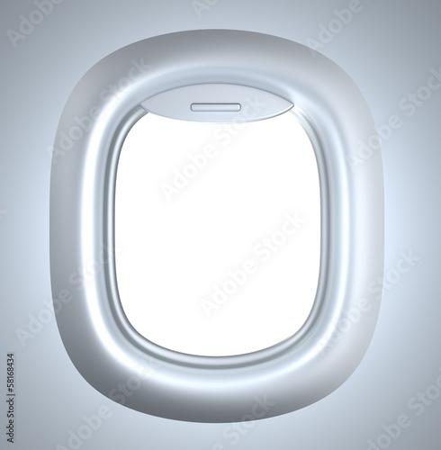 Porthole. Plane illuminator