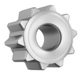 Gear icon , isolated