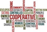 COOPERATIVE - word cloud