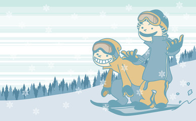 Snowboard_2boarder