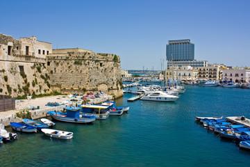 Gallipoli, il porto