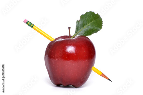 Stabbed Apple