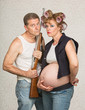 Serious Pregnant Hillbilly Couple