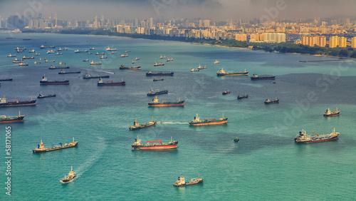 Leinwandbild Motiv Singapore