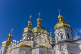 Domes of the cathedral in the Kiev Pechersk Lavra