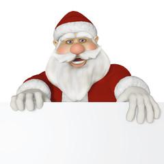 Santa Claus 3d sitting